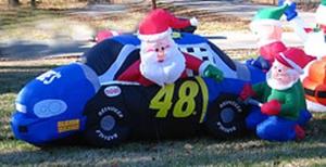 blow up santa-'56 Mojo-ed
