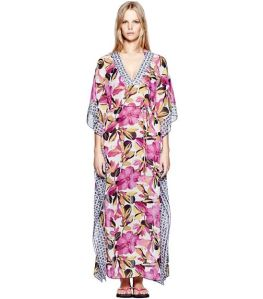 This luscious caftan is by Tory Burch!