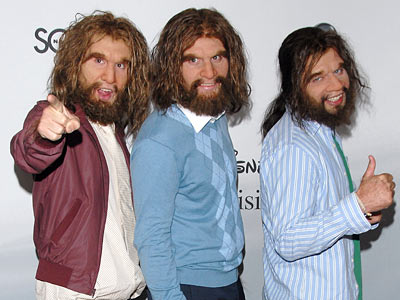 Neanderthals from Geico ad