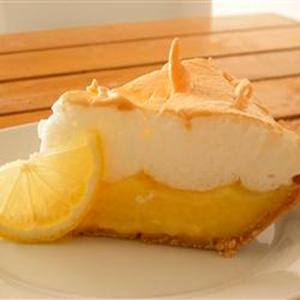 lemon meringue pie from allrecipes