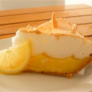 lemon meringue pie from allrecipes