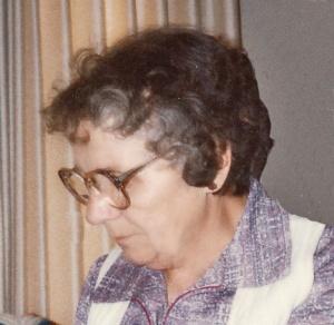 Mom in her 70s.