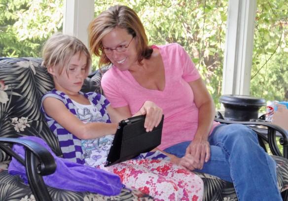 Rowan with Mom