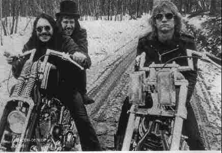 It is a historically significant photo of the James Gang circa 1970 (Jim Fox, Dale Peters, Joe Walsh)