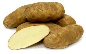 potatoes, russet