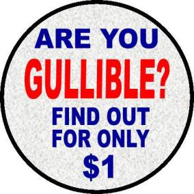 gullible
