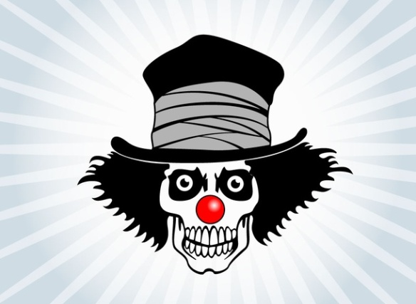 clown scary-vectorportal