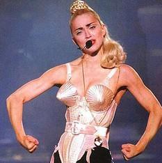 Madonna w-cones-