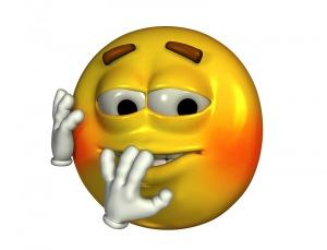 surprise emoticon
