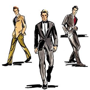 mens suits-cliparts