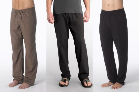 Men's pants seem to be looser. Courtesy of Seattle Yoga News.