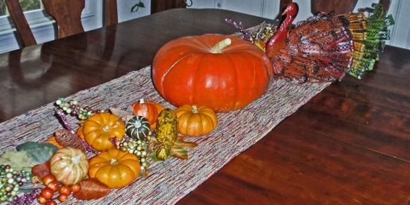 Pumpkin minus spider