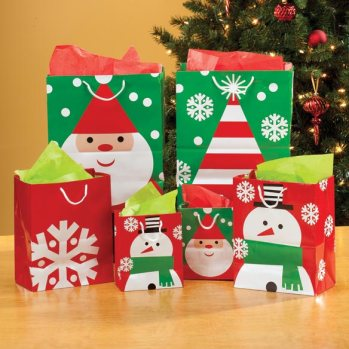 Gift bags from Miles Kimball