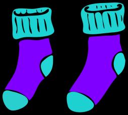 socks,clkr