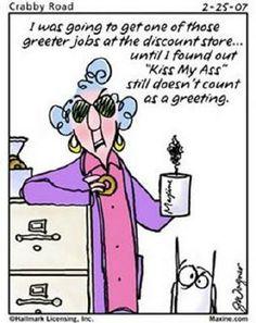 Maxine - retirement
