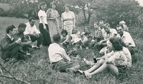 A family picnic from my childhood